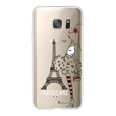 Coque Samsung Galaxy S7 360 intégrale transparente Parisienne Tendance La Coque Francaise.