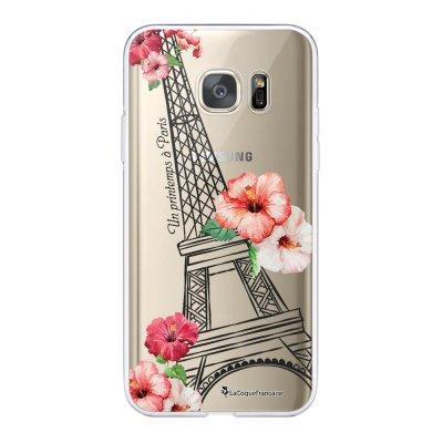 Coque Samsung Galaxy S7 360 intégrale transparente Un Printemps à Paris Tendance La Coque Francaise.