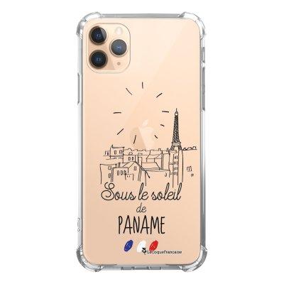 Coque iPhone 11 Pro anti-choc souple angles renforcés transparente Sous le soleil La Coque Francaise
