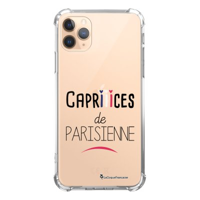 Coque iPhone 11 Pro anti-choc souple angles renforcés transparente Caprices de Parisienne La Coque Francaise