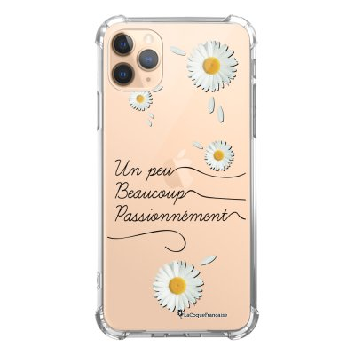 Coque iPhone 11 Pro anti-choc souple angles renforcés transparente Un peu beaucoup La Coque Francaise