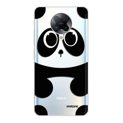 Coque Xiaomi Poco F2 Pro 360 intégrale transparente Panda Tendance Evetane.