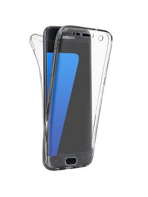 Coque intégrale transparente 360° Ultra Slim en silicone souple pour Samsung Galaxy A7 2016