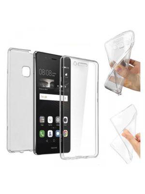 Coque intégrale transparente 360° Ultra Slim en silicone souple pour Huawei P9