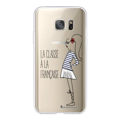 Coque Samsung Galaxy S7 360 intégrale transparente Classe Tendance La Coque Francaise
