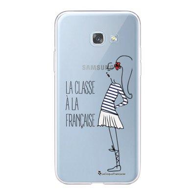 Coque Samsung Galaxy A5 2017 souple transparente Classe Motif Ecriture Tendance La Coque Francaise.