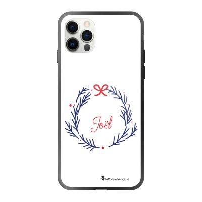 Coque iPhone 12/12 Pro soft touch effet glossy noir Noyeux Joël Design La Coque Francaise