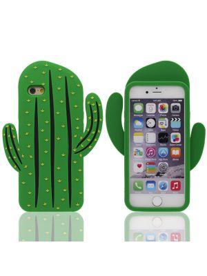 Coque silicone souple Cactus pour iPhone 6/6S