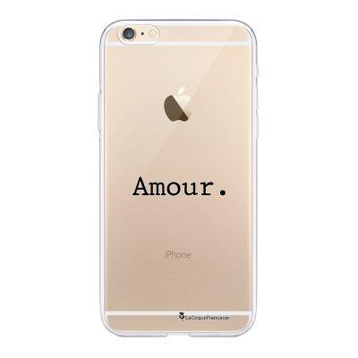 Coque iPhone 6 Plus / 6S Plus souple transparente Amour Motif Ecriture Tendance La Coque Francaise.