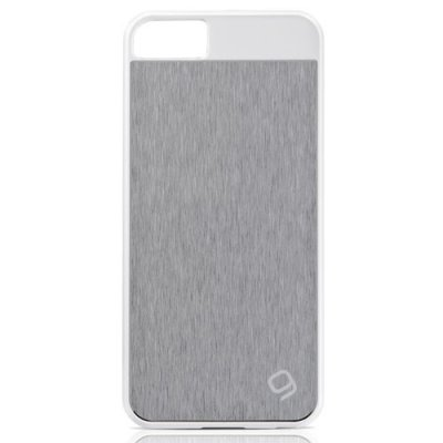 Coque aluminium Gear4 guardian silver pour iPhone 5