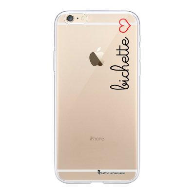 Coque iPhone 6 Plus / 6S Plus souple transparente Bichette Motif Ecriture Tendance La Coque Francaise.