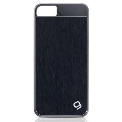 Coque aluminium Gear4 guardian noir pour iPhone 5