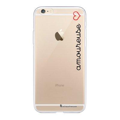 Coque iPhone 6 Plus / 6S Plus souple transparente Amoureuse Motif Ecriture Tendance La Coque Francaise.