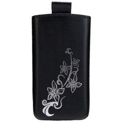 Etui cuir pocket Valenta Lily Noir taille 01