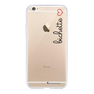 Coque iPhone 6/6S souple transparente Bichette Motif Ecriture Tendance La Coque Francaise.