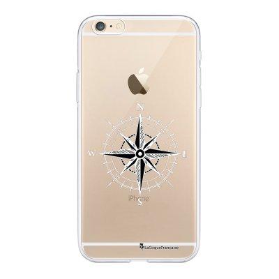 Coque iPhone 6/6S souple transparente Boussole Motif Ecriture Tendance La Coque Francaise.
