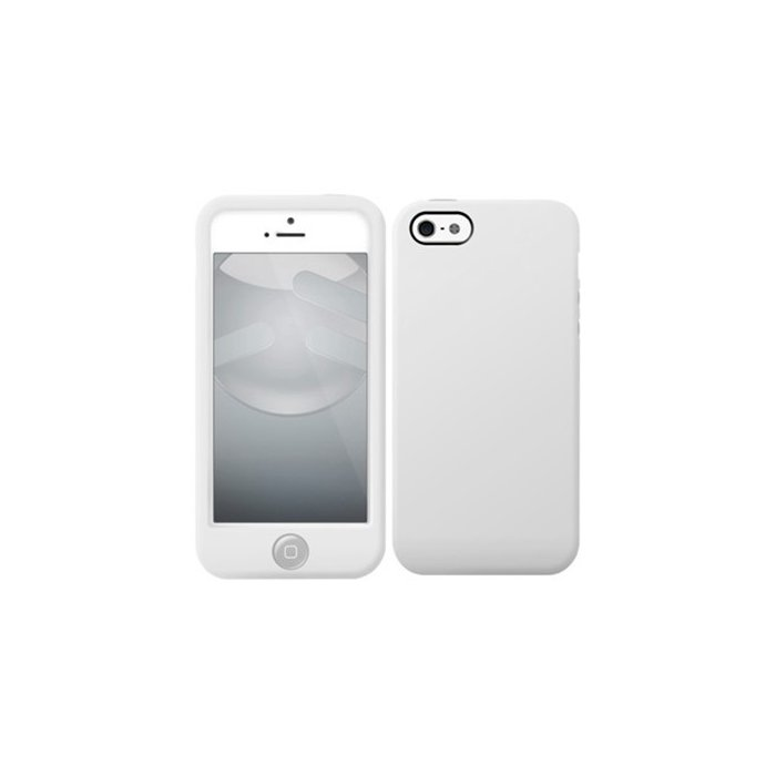 switcheasy colors coque silicone blanche iphone 5 5s