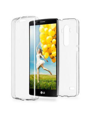 Coque intégrale transparente 360° Ultra Slim en silicone souple pour LG K10