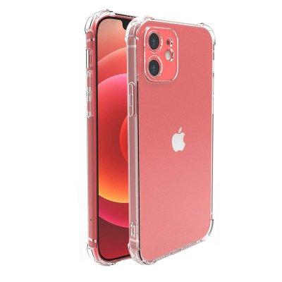 Coque iPhone 12 mini (5,4 pouces) Anti-Chocs avec Bords Renforcés en silicone Transparente