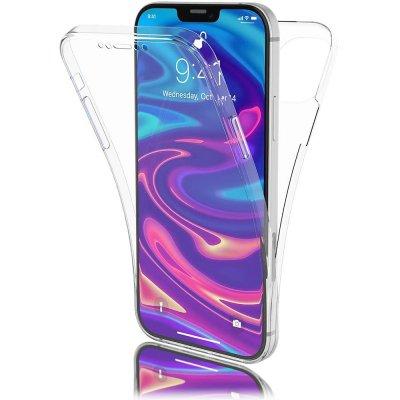 Coque iPhone 12 mini (5,4 pouces) 360° intégrale protection avant arrière silicone transparente