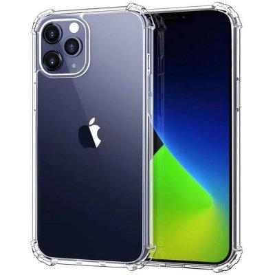 Coque iPhone 12/12 Pro (6,1 pouces) Anti-Chocs avec Bords Renforcés en silicone Transparente