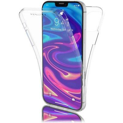 Coque iPhone 12 Pro Max (6,7 pouces) 360° intégrale protection avant arrière silicone transparente