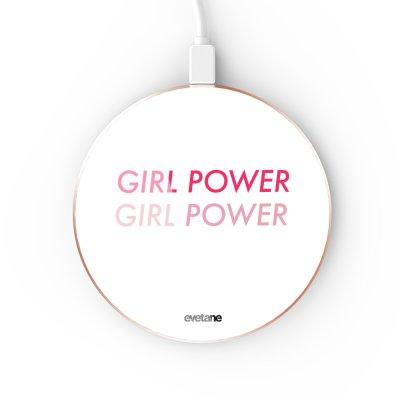 Chargeur Induction contour gold Girl Power Dégradé Evetane