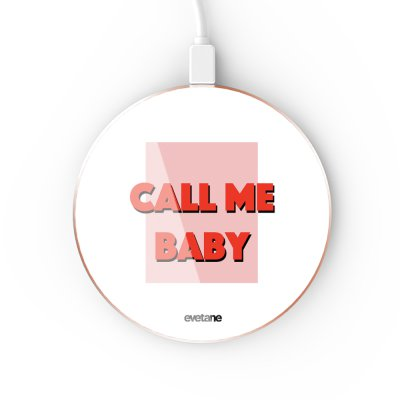 Chargeur Induction contour gold Call me baby Evetane