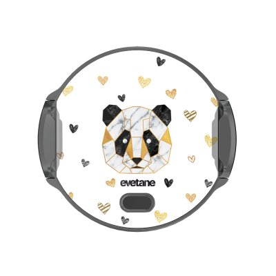 Support voiture avec charge à Panda Géométrique Evetane