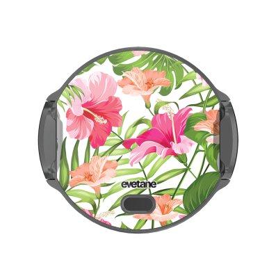 Support voiture avec charge à Fleurs Tropicales Evetane