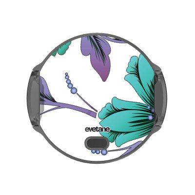 Support voiture avec charge à Lys Bleues et violettes Evetane