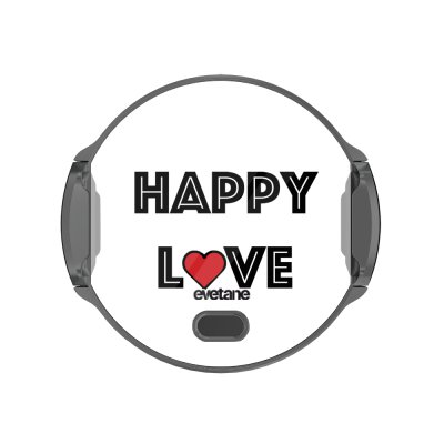 Support voiture avec charge à Happy Love Evetane