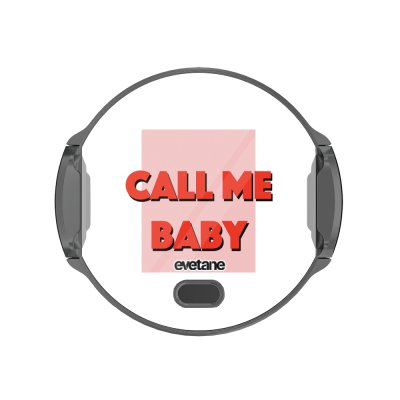 Support voiture avec charge à Call me baby Evetane