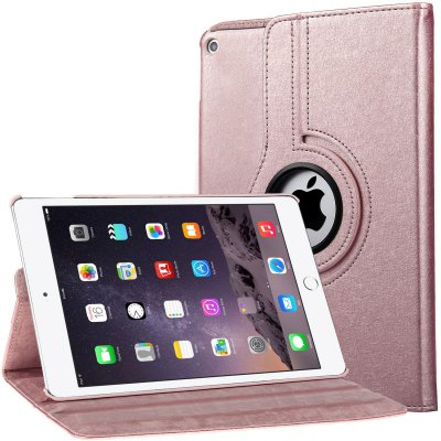 Etui rotatif EVETANE 360° pour iPad Air - Rose gold