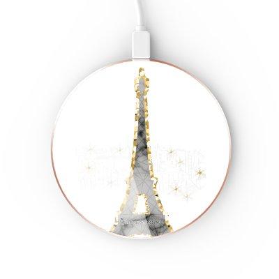Chargeur Induction contour gold Illumination de paris La Coque Francaise