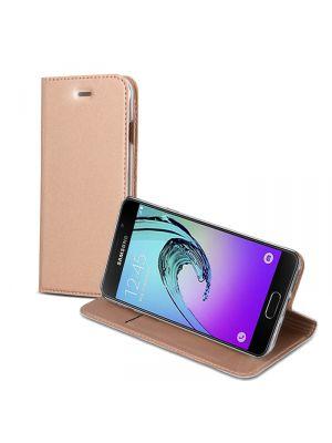 Etui folio avec stand pour Samsung Galaxy A5 2016 - Rose gold