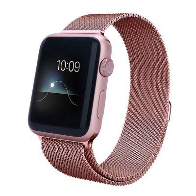 Bracelet en acier pour Apple Watch 42mm - Rose Gold (Vendu sans la montre)