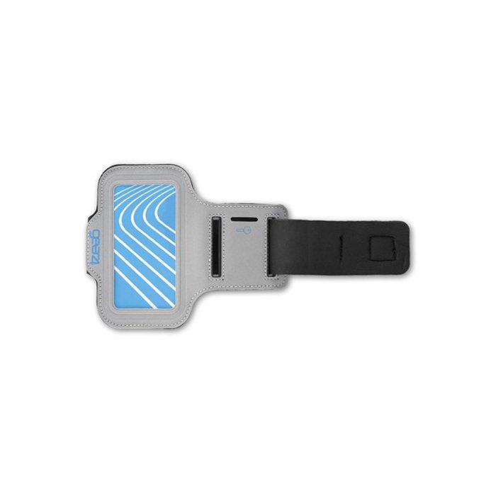 Gear4 Brassard Challenger gris bleu pour iPhone 5