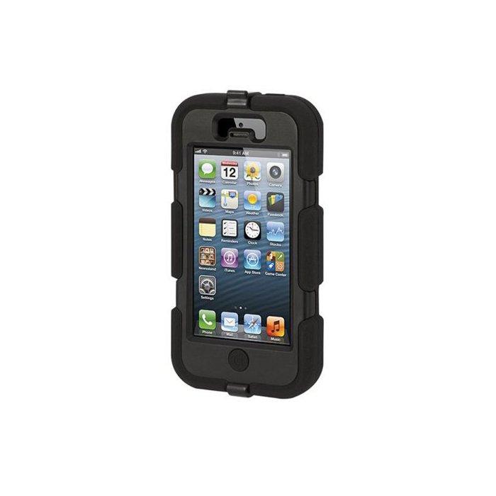 griffin coque survivor noir pour iphone 5