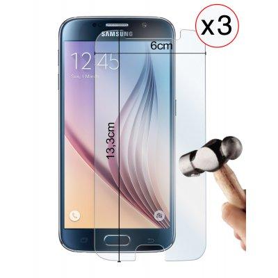 Lot de 3 vitres protectrices en verre trempé pour Samsung Galaxy S7