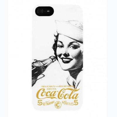 Coque Coca-Cola Golden Beauty V iPhone 5