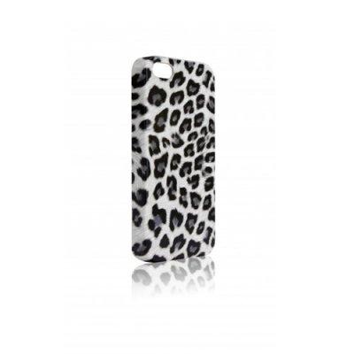 Coque DS.Styles Leopardo iPhone 5 blanc et noir