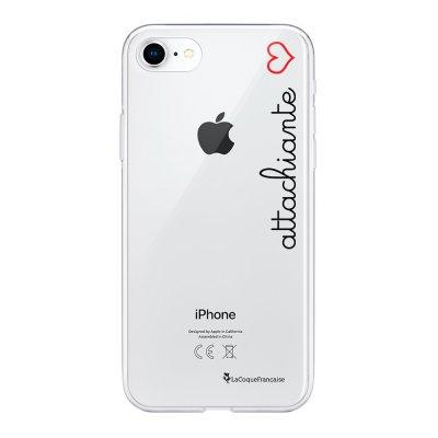 Coque iPhone 7/8/ iPhone SE 2020 360 intégrale transparente Attachiante Tendance La Coque Francaise
