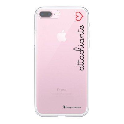 Coque iPhone 7 Plus/ 8 Plus 360 intégrale transparente Attachiante Tendance La Coque Francaise