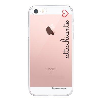 Coque iPhone 5/5S/SE 360 intégrale transparente Attachiante Tendance La Coque Francaise