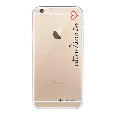 Coque iPhone 6 Plus / 6S Plus 360 intégrale transparente Attachiante Tendance La Coque Francaise