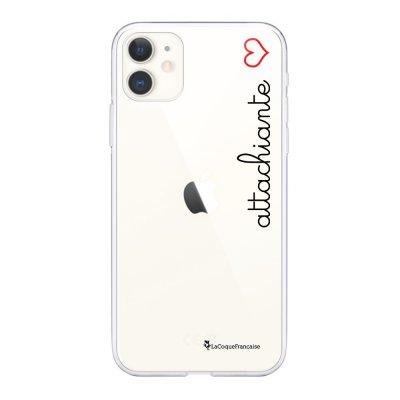 Coque iPhone 11 360 intégrale transparente Attachiante Tendance La Coque Francaise