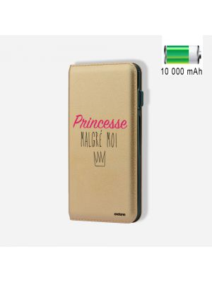 Batterie externe POWER BANK 10 000mAh Princesse Malgré Moi - Compatible Lightning & Micro USB