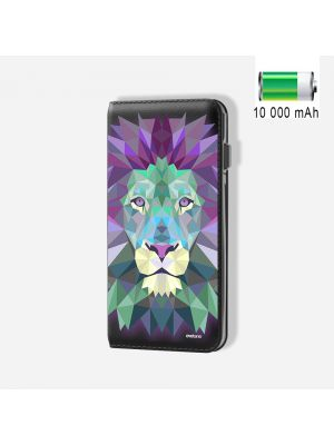 Batterie externe POWER BANK 10 000mAh Lion Pastel - Compatible Lightning & Micro USB