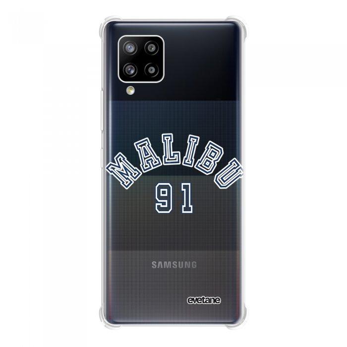 Coque Samsung Galaxy A42 anti-choc souple angles renforcés transparente Malibu 91 Evetane.